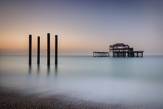 West Pier Grade I listed building in the United Kingdom