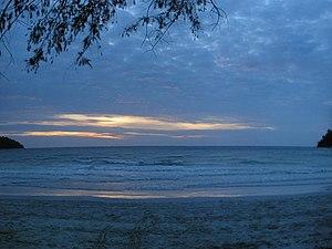 Pangkor Island - Sunset at a beach of Pangkor
