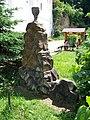 Svatý Jan pod Skalou, Husův balvan (01).jpg