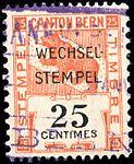 Switzerland Bern 1914 revenue 25c - 92.jpg
