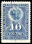 Switzerland Geneva 1931 revenue C3 0.10Fr - 21A.jpg