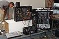 Synthesizers.com, vermona, macbeth m3x, doepfer @ AHBA2005.jpg