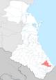 Tabasaransky district locator map.png