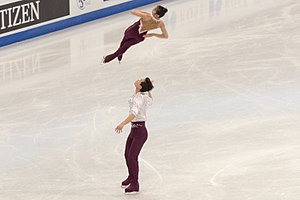 North Korea at the 2018 Winter Olympics - Ryom Tae-ok and Kim Ju-sik in 2017