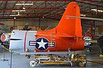 Tail of Canadair CT-133 Silver Star 'NX377JP' (26195829584).jpg