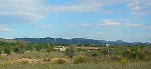 Talaies d'Alcalà - View of the Talaies north of Alcalà the Xivert