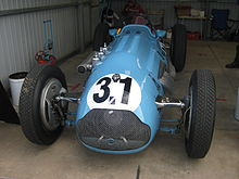 Photo d'une Talbot-Lago Type 26C.