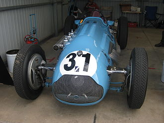 1956 Australian Grand Prix - The Talbot-Lago T26C driven to 8th place by Doug Whiteford. The car is pictured in 2010