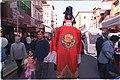 Taoist Immortal walks on San Francisco's Grant Avenue during 2004 Chinese New Year celebrations.jpg