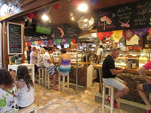 Tapas alley, Calle Santo Domingo, Benidorm, 15 July 2016 (4)