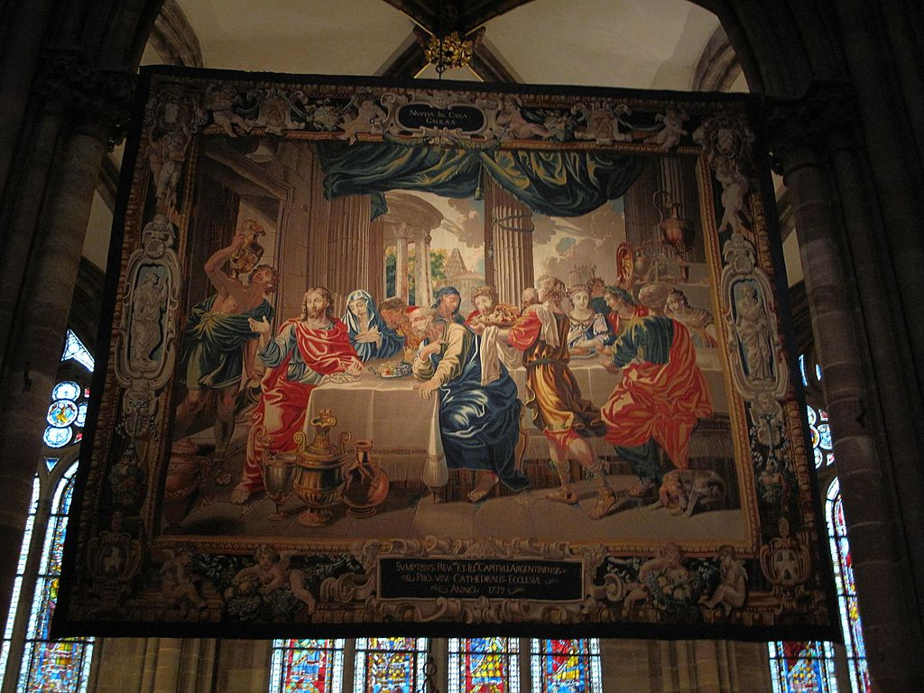 Tapestry Marriage at Cana Strasbourg