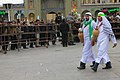 Tasu'a Mourning-Shia muslim in qom عزاداری روز تاسوعا در قم 11.jpg