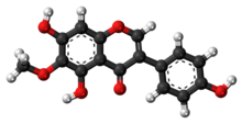 Tectorigenin-molekulo