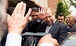 Tehran Mayor Mohammad Bagher Ghalibaf in opening of Khaje Abdullah Ansari Metro Station 05.jpg
