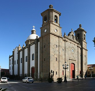 Agüimes - Templo Parroquial de San Sebastián