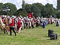 Tewkesbury Medieval Festival 2008 - Marching re-enactors.jpg
