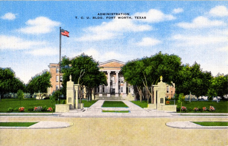 Texas Christian University Administration Building, Fort Worth, TX