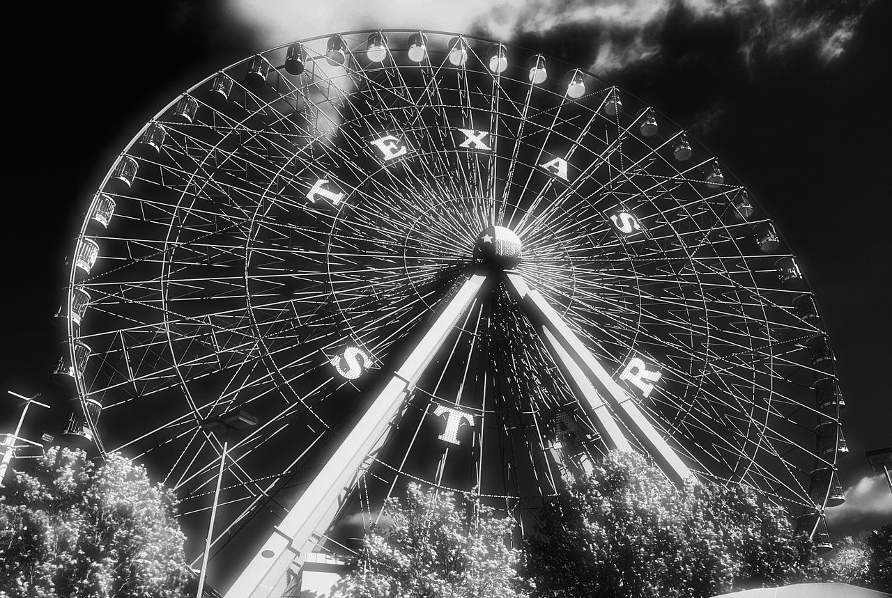 File:Texas Star Black and White 2007.jpg - Wikimedia Commons