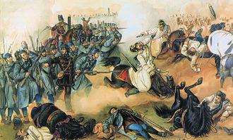 First Battle of Komárom (1849) - Image: Than Komaromi csata 1849 04 26