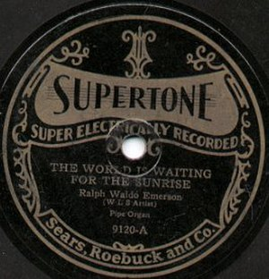Supertone Records - Supertone Records The World Is Waiting For The Sunrise