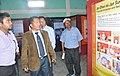 The Additional Deputy Commissioner of Kolasib District, Shri R. Lalremsanga visiting the DAVP Photo Exhibition, during the Public Information Campaign, at Saipum Village Kolasid Dist. Mizoram on November 13, 2015.jpg