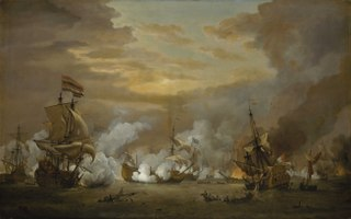 The Battle of the Texel, 11-21 August 1673