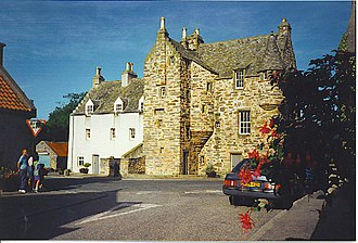 Fordyce, Aberdeenshire - The Scottish baronial style Fordyce Castle