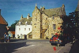 Banffshire - Fordyce Castle, Banffshire