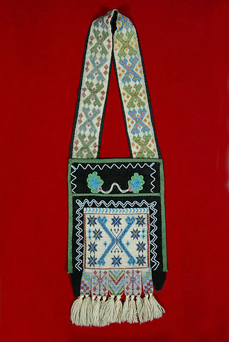 Bandolier bag - Image: The Childrens Museum of Indianapolis Bandolier bag overall
