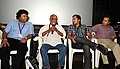 "The Director, Sattiraju Lakshmi Narayana addressing at the launch of the film ""Sri Ramrajya"", during the 42nd International Film Festival of India (IFFI-2011), in Panaji, Goa. Actor Omi Vaidya, the Chief Secretary of Goa.jpg"