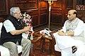 The Governor-designate of Nagaland and Tripura, Shri Padmanabha Balakrishna Acharya calling on the Union Home Minister, Shri Rajnath Singh, in New Delhi on July 17, 2014.jpg