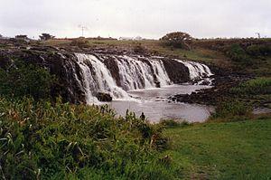 Hopkins River - Hopkins Falls, near Wangoom, in 1993