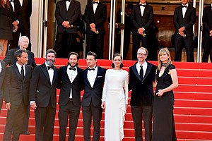 The Immigrant (2013 film) - Cast and director at the 2013 Cannes Film Festival.