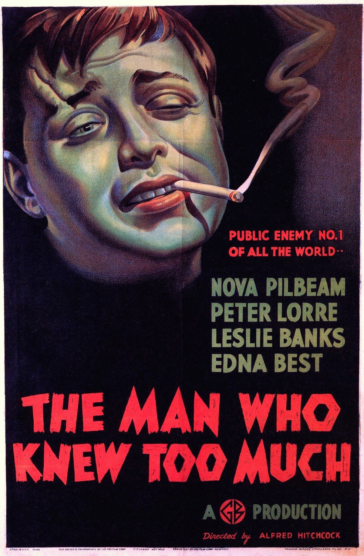 The Man Who Knew Too Much (1934 film) - Wikipedia