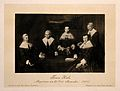 The Matron and Governors of the Old Man's House, Amsterdam. Wellcome V0006689.jpg