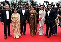 The Minister of State (Independent Charge) for Tourism, Shri K. Chiranjeevi was accorded red carpet welcome at the Cannes Film Festival, France on May 20, 2013.jpg