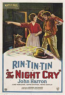 <i>The Night Cry</i> 1926 film