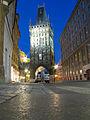 The Old Praha Gate (Powder Tower) - panoramio - Andrej Kuźniečyk.jpg