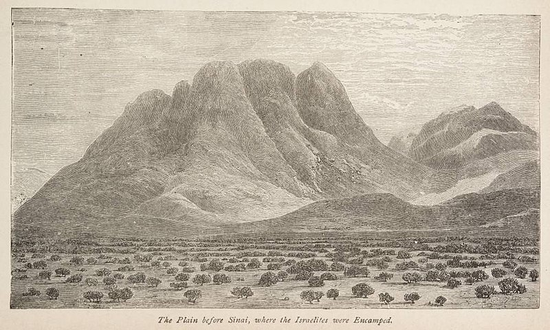 File:The Plain before Sinai, where the Israelites were Encamped. (1884) - TIMEA.jpg