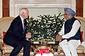 The Prime Minister, Dr. Manmohan Singh meeting the Governor General of Canada, Mr. David Johnston, in New Delhi on February 24, 2014 (1).jpg