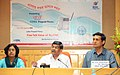 The Principal Adviser, TRAI, Shri N. Parameswaran addressing the media after review of the implementation of Digital Addressable Cable TV System (DAS), in Kolkata metropolitan area on July 18, 2013.jpg