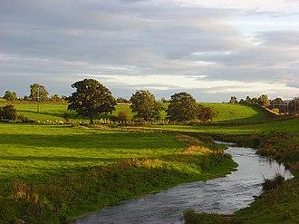 River Petteril - Petteril from Kitchenhill bridge