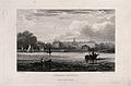 The Royal Hospital, Chelsea; viewed from the Surrey bank wit Wellcome V0012908.jpg