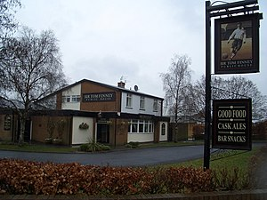 Tom Finney - The Sir Tom Finney, a pub in Penwortham, near Preston