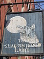The Slaughtered Lamb pub sign, New-York.JPG