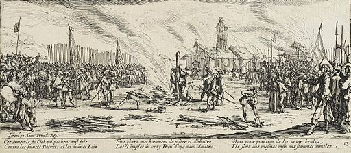 The Stake by Jacques Callot