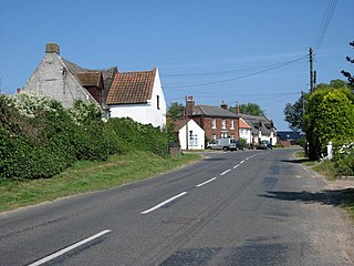Lessingham village in the United Kingdom