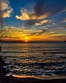 The Sun sets at Kantouni beach.jpg