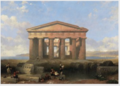 The Temple of Neptune at Paestum .PNG
