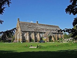 Cerne Abbey - Tithe barn